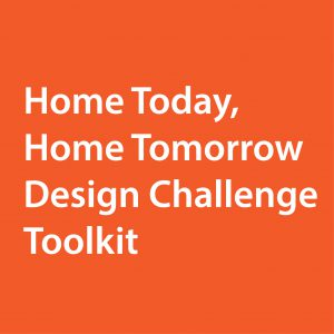 Home Today, Home Tomorrow Design Challenge Toolkit - AARP Home Accessibility Logo