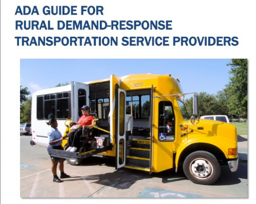 ADA Guide for Rural Demand-Response Transportation Service Providers