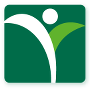 AgrAbility logo, a dark green square with a white and light green stylized plant with a white dot that also looks vaguely like a person.