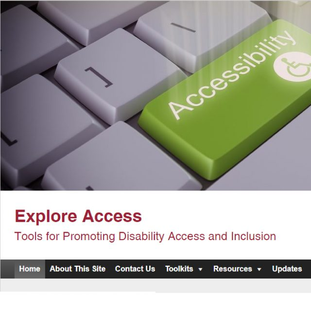 Explore Access Tools for Promoting Disability Access and Inclusion