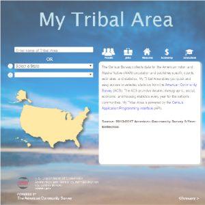 My Tribal Area - American Community Survey Tool Screenshot