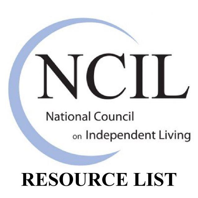 NCIL resource list