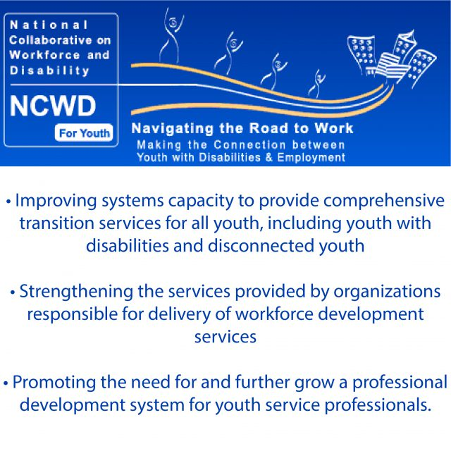 NCWD for Youth Navigating the Road to Work Making Connections between Youth and Employment