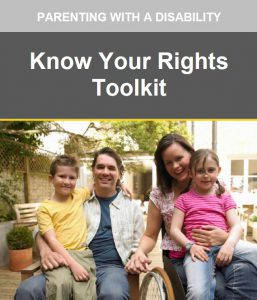 Parenting with a disability: Know your rights toolkit cover image