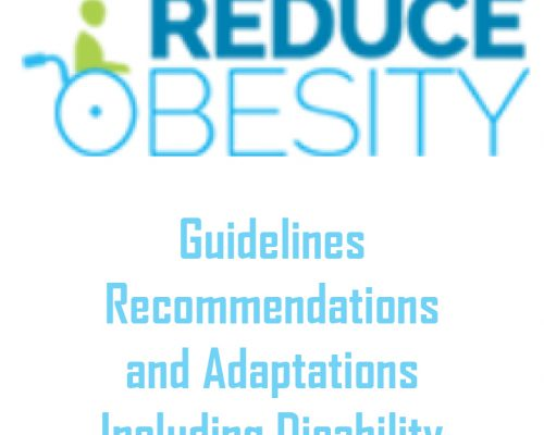 Reduce Obesity: Guidelines, Recommendations and Adaptions Including Disability
