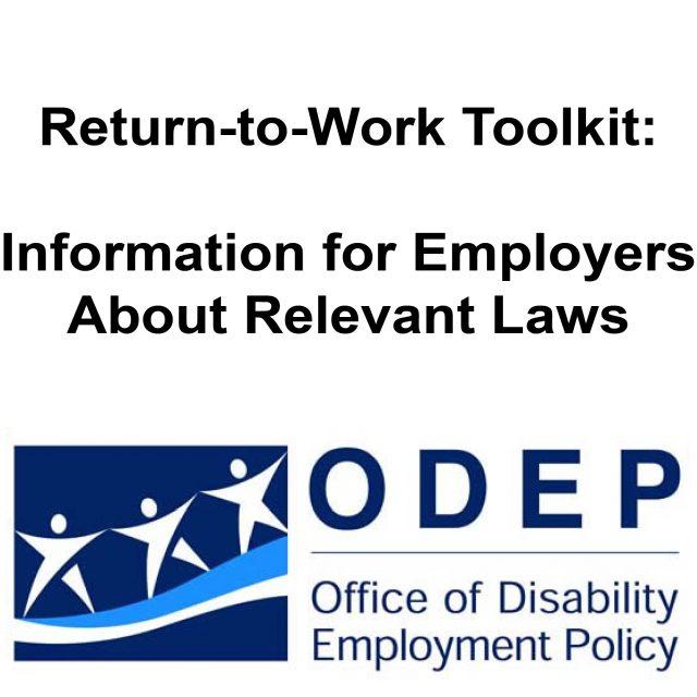 Return to Work Toolkit