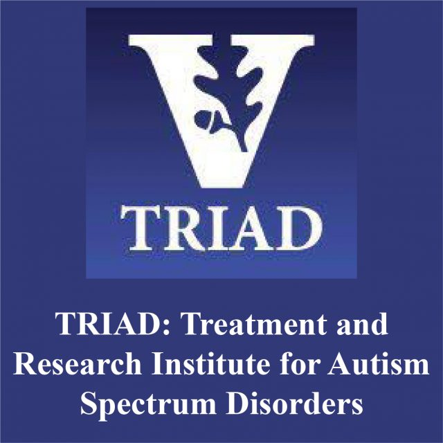 TRIAD: Treatment and Research Institute for Autism Spectrum Disorders