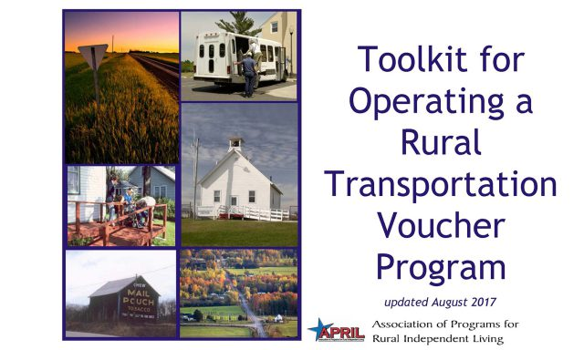 cover of transportation voucher toolkit publication