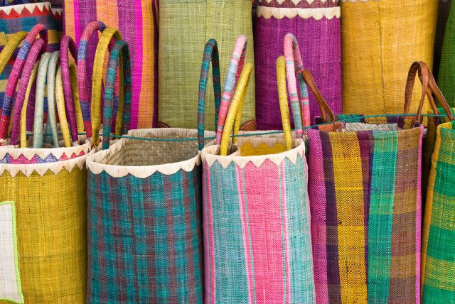 picture of colorful baskets