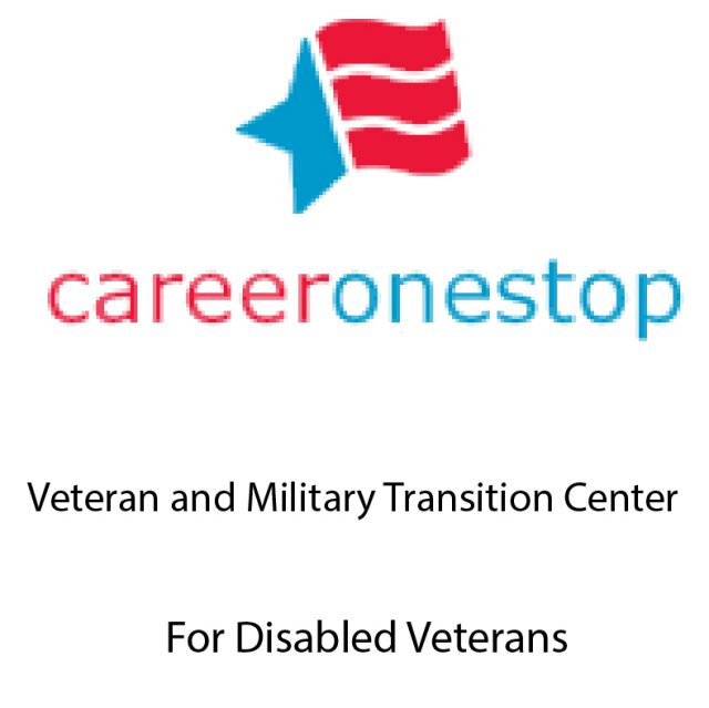 career one stop veteran and military transition center for disabled veterans