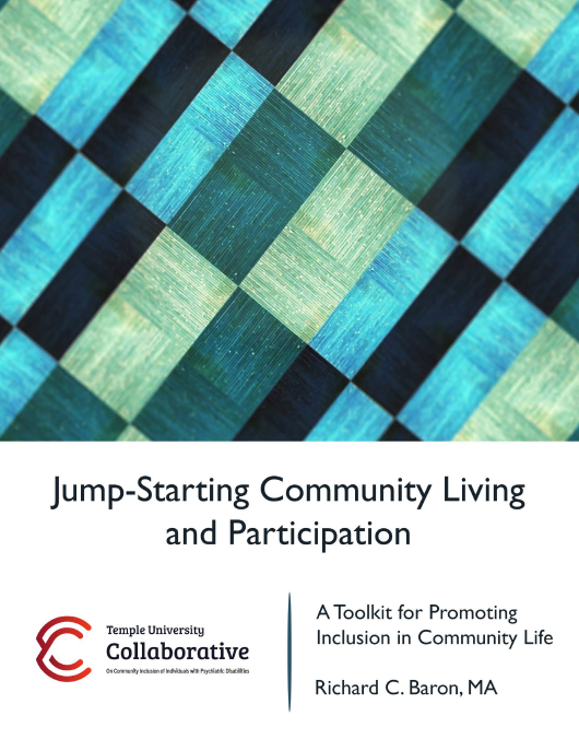 Cover for Jump-Starting Community Living and Participation: A Toolkit for Promoting Inclusion in Community Life